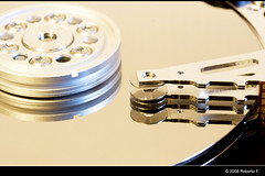 Hard disk dissection by Roberto F.