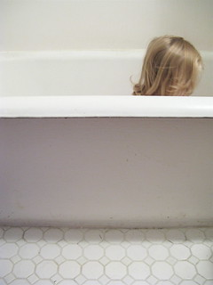 Sophie In The Bath