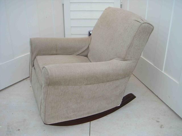 Upholstered Rocking Chair Slipcover » Home Design 2017