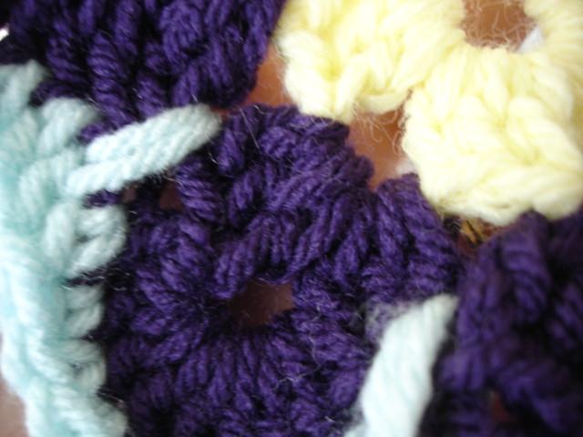 Zinnia Garden Crocheted Afghan Pattern - Free Afghan Crochet Pattern<