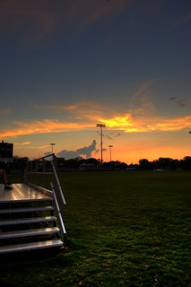 Stagg Field Sunset HDR
