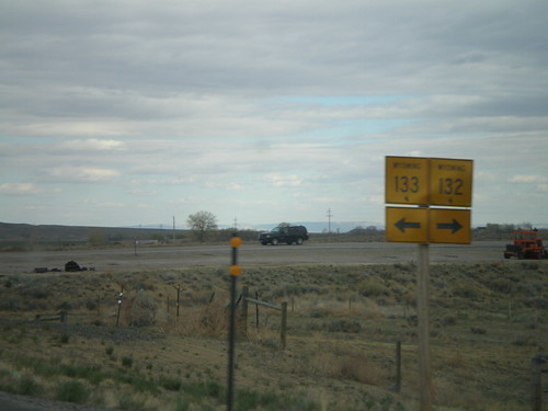 US-26 East at WY-133 and WY-132