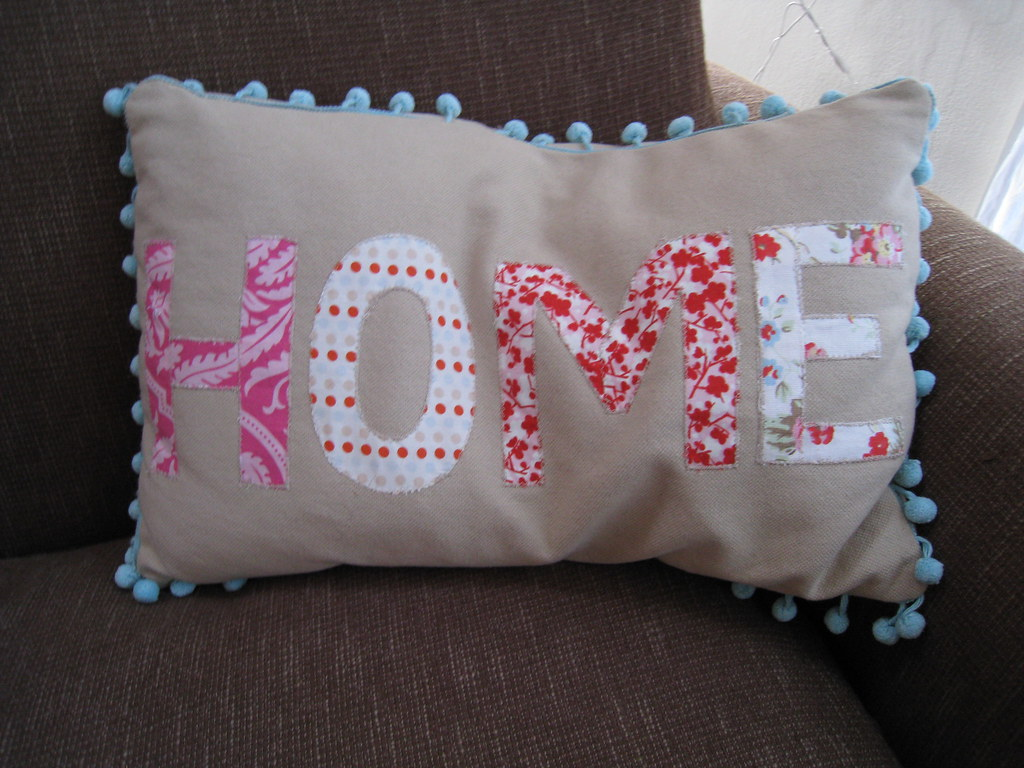my 'home'cushion