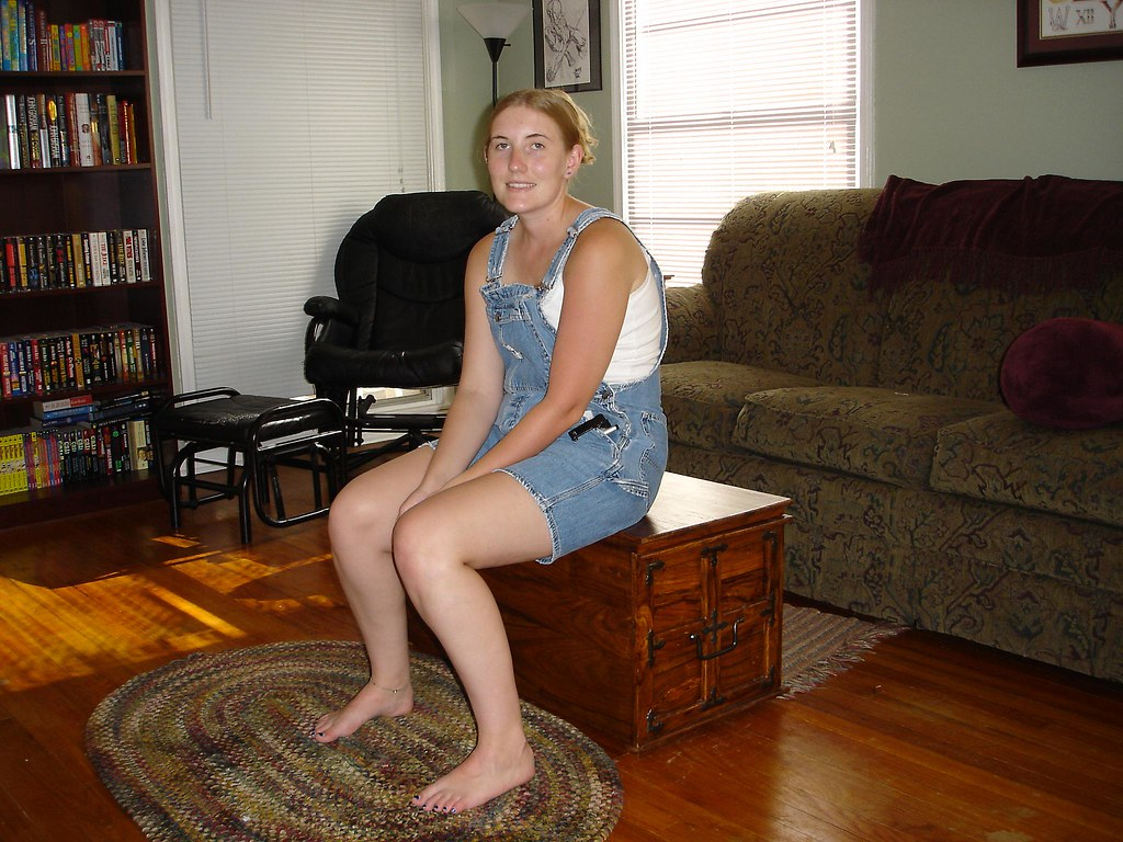 You might believe that sarah is just sitting on the coffee for Coffee tables you can sit on