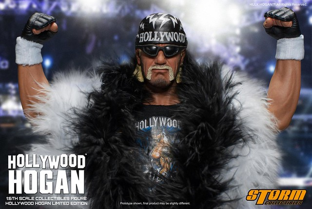 好年輕啊!!!Storm Collectibles【好萊塢.霍肯】Hollywood Hogan 1/6 比例人偶作品