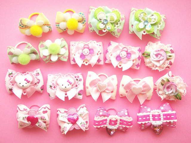 Kawaii Handmade Dog Bows Pet Accessory Cute Japan
