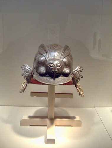 Helmet in Shape of a Crouching Rabbit (Kabuto 兜, 冑) by peterjr1961