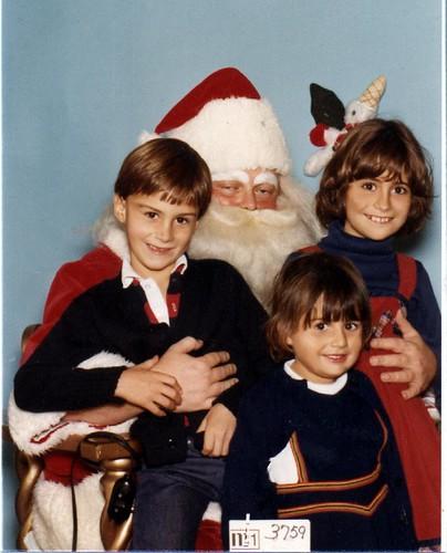 Santa picture, 1978