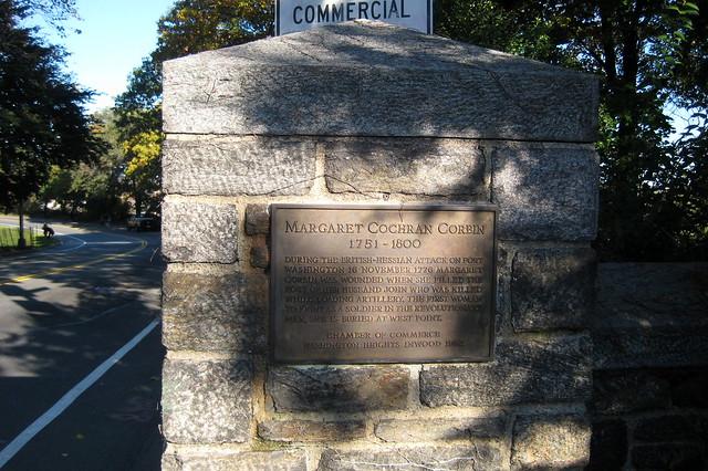 NYC - Fort Tryon Park - Margaret Corbin Circle