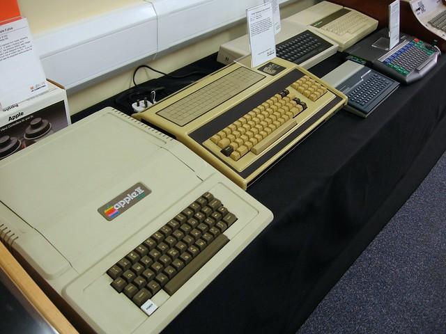 Apple II and Exidy Sorcerer