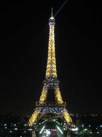 Eiffel Tower at Nite