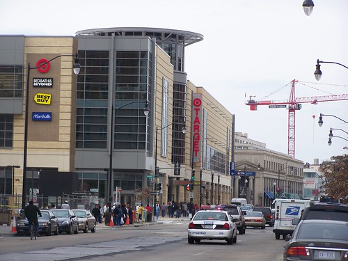 Rebuilding Place In The Urban Space City Target To Open