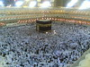 view of al-ka'ba from the roof hajj 1428