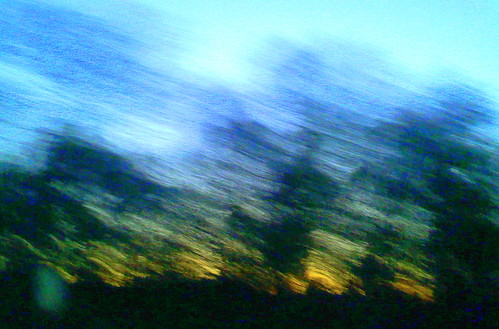 trees sunset blur art silhouette evening blurry twilight highway colorful driving pennsylvania cellphone pa poconos backseat snydersvillepa monroecounty poconomountains pa33