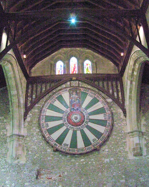 King Arthur 39 S Round Table Winchester Castle Flickr Photo