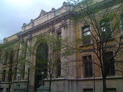 Carnegie Library Building in downtown Syracuse