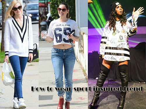 Sport inspired trend: How to wear