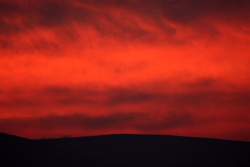 ireland sunset red sky fire gorgeous passion naturesfinest steiner62 infinestyle betterthangood