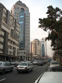 Skyscrapers in Central Tehran
