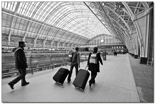 St Pancras international - London