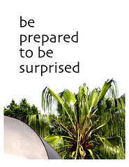 be prepared to be surprised
