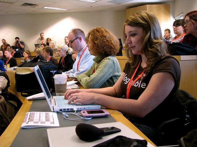 Videoblogging 101 attendees