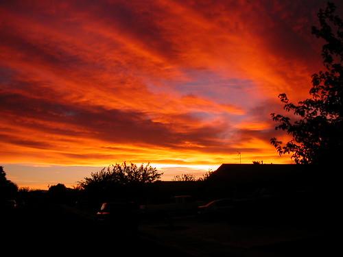 sunset coolpix2500