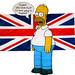 Homer inglés by Furanu