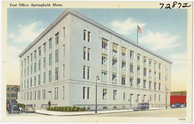 Post Office Springfield Mass Flickr Photo Sharing