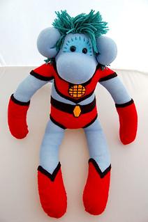 Sock Monkey - Captain Planet