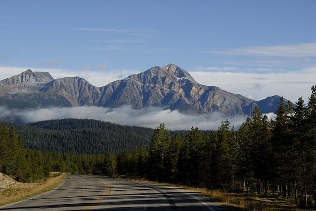 Mt Jasper. Montañas Rocosas, Canadá.