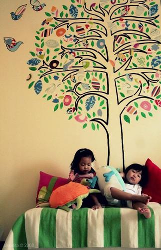 our artful life mural day. Black Bedroom Furniture Sets. Home Design Ideas
