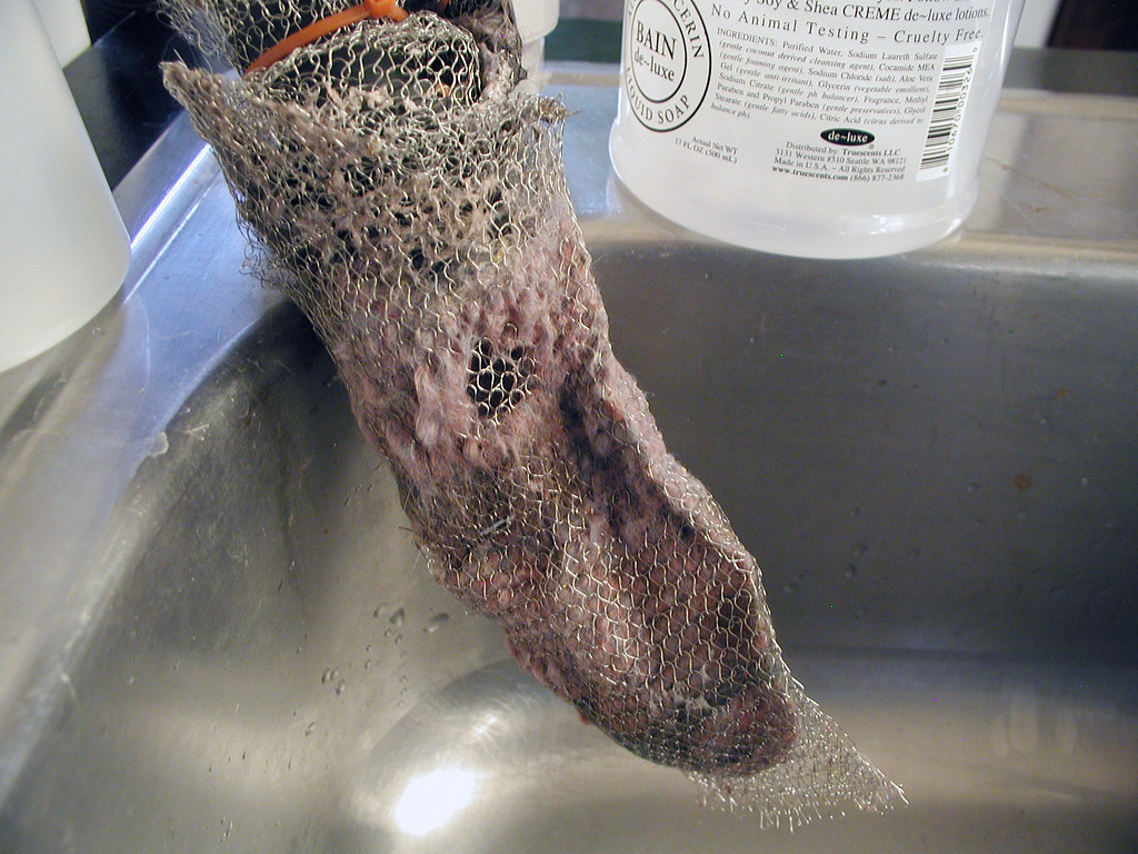 Clogged Washing Machine Drain Pipe Clogged Washing