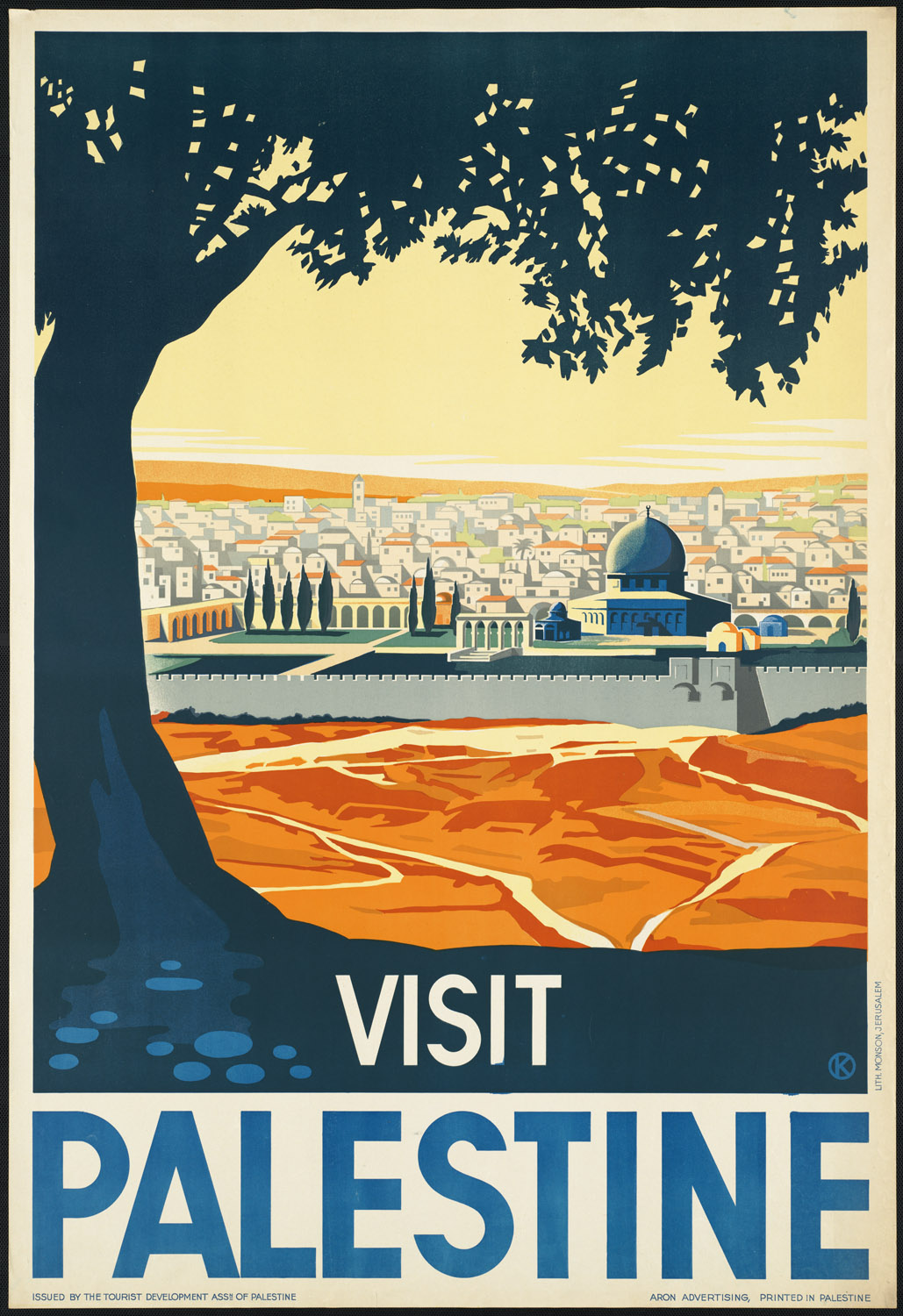 18 Beautiful Old School Travel Posters