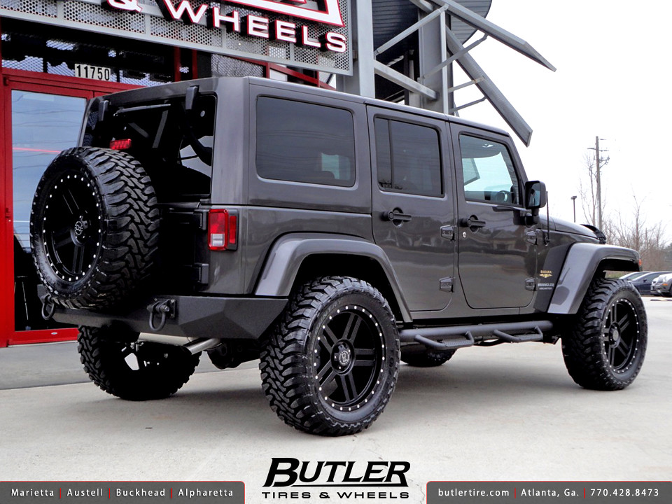 Good Jeep Wrangler Unlimited With 20in Black Rhino Mojave Wheels
