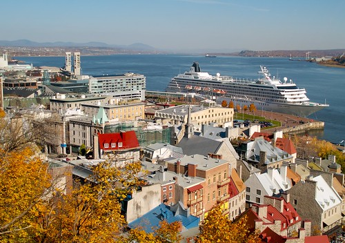 Cruise Ship, Quebec City