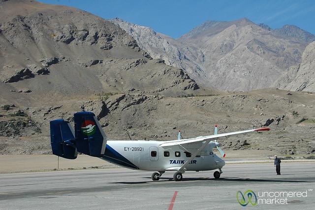Tajik Airplane - Khorog, Tajikistan