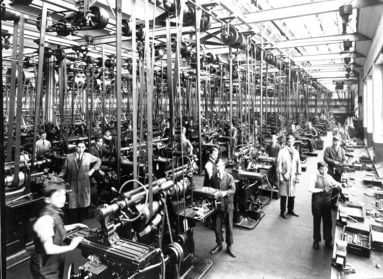 mass machine shops