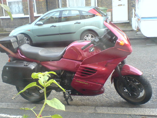 Not so duff bike (BMW K1100RS)