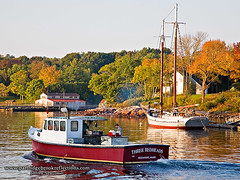 Off To Work, Rockport, ME