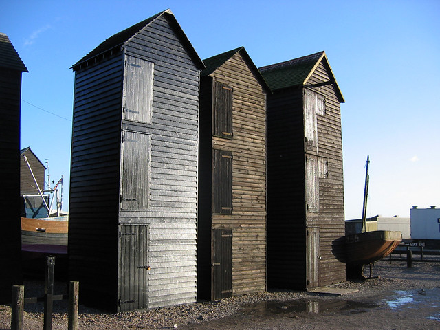 Sheds for fishing nets, Hastings