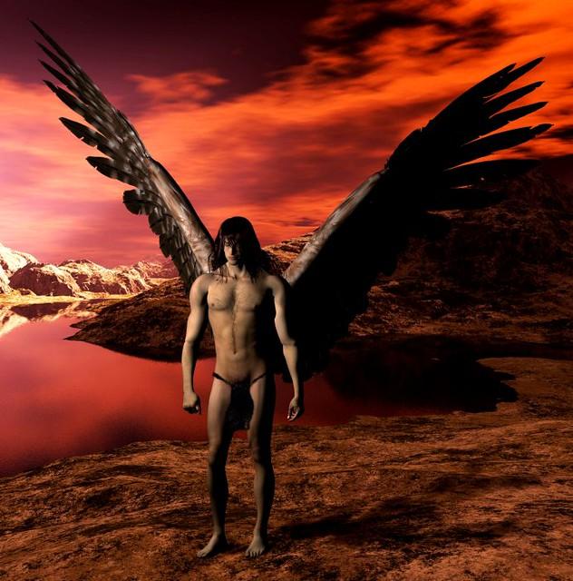 Lucifer Azrael: Flickr: Fox Valley Spirit