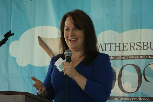 Jennifer Abernathy at the Gaithersburg Book Festival 2011 #GBurgBookFest
