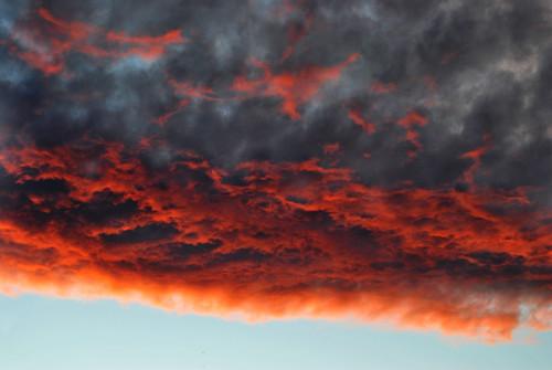 light summer sky orange black clouds dark evening scary heaven dusk dream unknown riga flickraward cloudslightningstorms cloudsstormssunsetssunrises