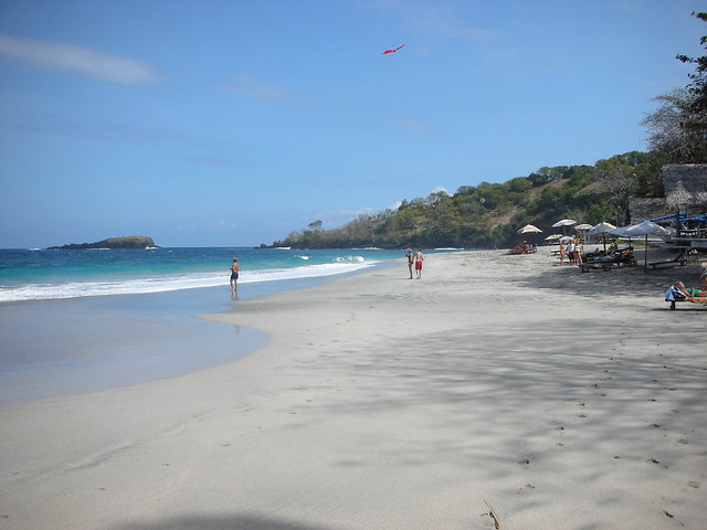 White sand beach - Bali - indonesia