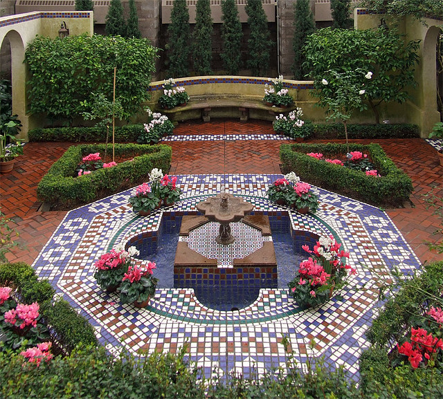 Missouri Botanical Gardens In Saint Louis Missouri Mediterranean House Moorish