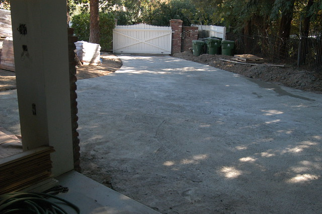 Concrete base for driveway flickr photo sharing Base for concrete driveway