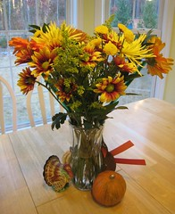 Thanksgiving/Birthday Flowers (201)