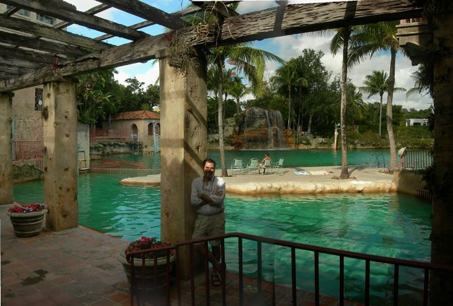 Mike at the venetian pool in coral gables flickr photo for Pool show coral gables