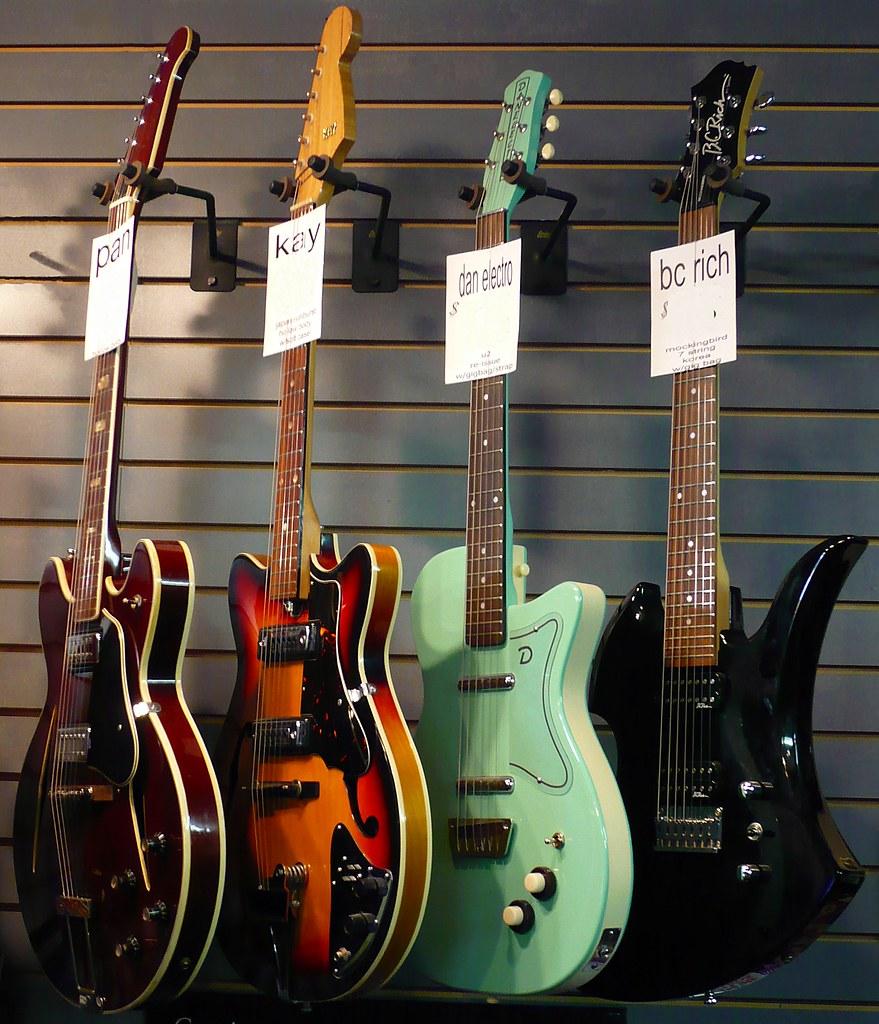 DanElectro & Kay Guitars - Ottawa 01 08